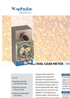 Kytola Instruments Model SR Oval Gear Flow Meters