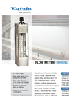 Model VE - Flow Meter Brochure