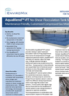 AquaBlend - Model FT - No - Shear Flocculation Tank Mixing System Brochure