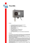 Model Pury 250E - Micro-Processor Controlled Gas Cooler Brochure