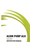 Albin ALH Peristaltic Hose Pump - High Pressure - User Manual
