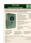 Model CP 2100 - Blower Control Panel - Brochure