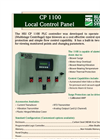 Model CP 1100 - Blower Control Panel- Brochure