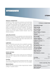 Stonclad XP Product Data Sheet Stoncla