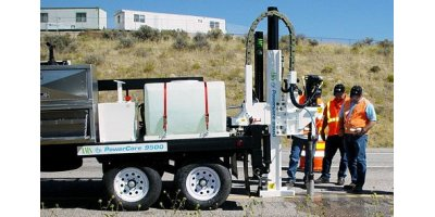 Sampling and drilling equipments for the construction industry