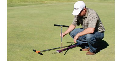 Sampling and drilling equipments for the golf and turf  industry