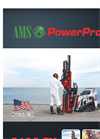 AMS PowerProbe - Model 9120-SK - Portable and Maneuverable Track System - Brochure