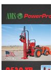 AMS PowerProbe - Model 9520-TR - Hydraulic Hammer - Brochure