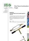 One-Piece Combination Edelman Auger - Datasheet