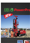 AMS PowerProbe - Model 9580-VTR - Auger and Hammer System Datasheet