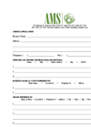 AMS Credit Application Form