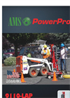 AMS PowerProbe - Model 9110-LAP and 9110-Power - Portable Direct Push Rig - Brochure