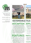 AMS - Extendible Tile Probes - Technical Data Sheet