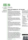 AMS - Basic Soil Sampling Kits -  5/8 Threaded - Datasheet