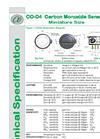 Alphasense - Model CO-D4 - Carbon Monoxide Gas Sensors Brochure