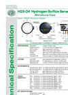 Alphasense - Model H2S-D4 - Hydrogen Sulfide Gas Sensors Brochure