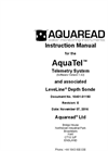 AquaTel - Telemetry System - Instruction Manual