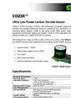 COZIR - Wide Range Ultra Low Power Carbon Dioxide Sensor Brochure