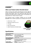 COZIR - Uncased Ultra Low Power Carbon Dioxide Sensor Brochure