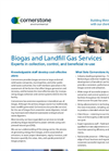 Biogas and Landfill Gas Services- Brochure