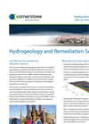 Hydrogeology and Remediation Services- Brochure