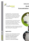 Model MS2000-SYS - Total Trihalomethanes Concentration Monitoring System (TTHM) Brochure