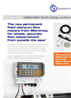 Model U3000/U4000 - Ultraflo Clamp-on Flow Meter Brochure