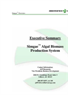 Simgae - Algal Biomass Production System Brochure
