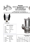 Model PS-750-A Agitator Slurry Pump - Technical Datasheet