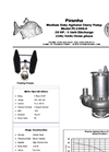 Model PS-2000-A Agitator Slurry Pump - Technical Datasheet