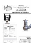Model P-5-A Agitator Slurry Pump - Technical Datasheet