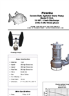 Model P-10-A Agitator Slurry Pump - Technical Datasheet