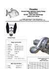 Model P-50-A/AJ 50Hz Agitator Slurry Pump - Technical Datasheet