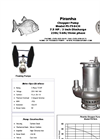 Model PS-750-CH - Solids Handling Pump - Technical Datasheet