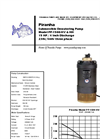 Model PP-1500-HV/PP-1500-HH - Industrial Duty Dewatering Pump - Technical Datasheet