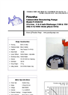 Model P-4500-HV 50Hz/P-4500-HH 50Hz - Industrial Duty Dewatering Pump - Technical Datasheet