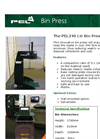 PEL 240 Ltr Bin Press / Bin Compactor Brochure