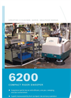 Model 6200 - Compact Rider Sweeper Brochure