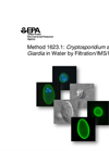 Cryptosporidium and Giardia Analysis and Testing Laboratory Services Brochure