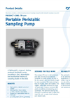 TR -200 - Portable Peristaltic Sampling Pump Brochure