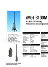 Model iMet-3100M 403 MHz - Fixed / Portable Military Sounding System - Brochure