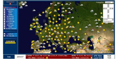MESSIR-NET - Fully-Automated Meteorological Web Server Software