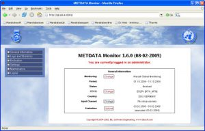 IBL - Metdata Monitor System