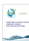 Mobile Water Purification Systems Catalogue