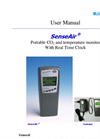Model SE-0024 - Hand-held CO2 Meter and Data Logger - Manual