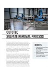 Outotec - Sulfate Removal Process System Brochure