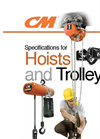Trolley Hand Chain Hoist for Low Headroom Brochure