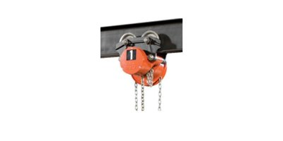 Trolley Hand Chain Hoist for Low Headroom