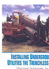 Installing Underground Utilities the Trenchless Way
