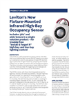 Leviton - Fixture-Mounted Infrared High-Bay Occupancy Sensor Brochure